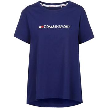 Textil Ženy Trička s krátkým rukávem Tommy Hilfiger S10S100445 Modrý