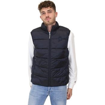 Textil Muži Svetry / Svetry se zapínáním Invicta 4437177/U Modrý