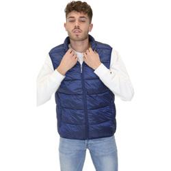 Textil Muži Prošívané bundy Invicta 4437177/U Modrý