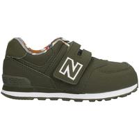 Boty Děti Nízké tenisky New Balance NBIV574GYL Zelený