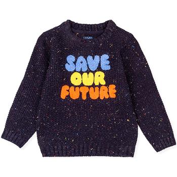 Textil Děti Svetry Losan 025-5001AL Modrý