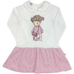 Textil Dívčí Krátké šaty Melby 20A0011 Bílý