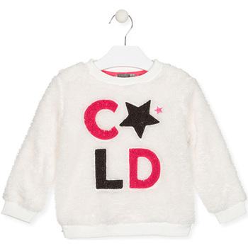 Textil Děti Mikiny Losan 026-6028AL Bílý