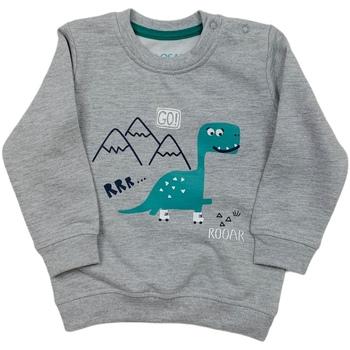 Textil Děti Mikiny Losan 027-6652AL Šedá