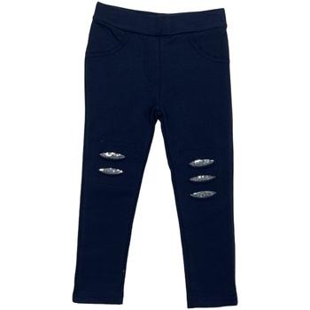 Textil Dívčí Legíny Losan 026-6008AL Modrý