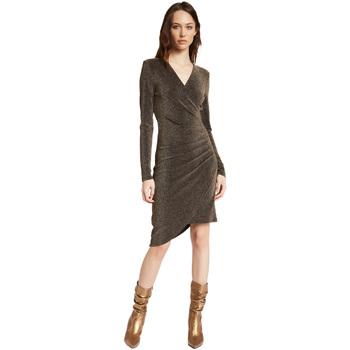 Textil Ženy Krátké šaty Gaudi 021FD14003 Zlato