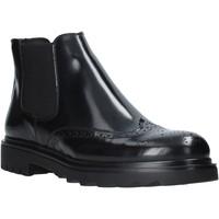 Boty Muži Kotníkové boty Exton 607 Černá