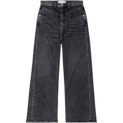 Textil Ženy Rifle bootcut Calvin Klein Jeans J20J214004 Černá