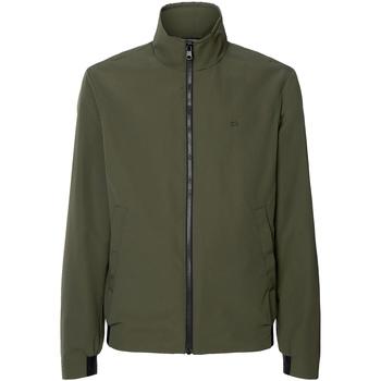 Textil Muži Větrovky Calvin Klein Jeans K10K105607 Zelený