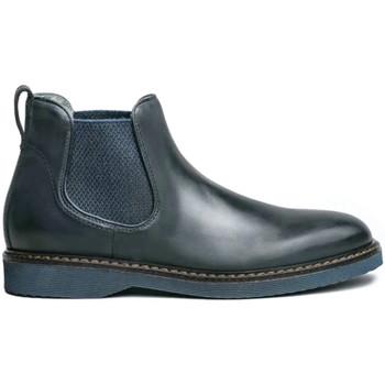 Boty Muži Kotníkové boty NeroGiardini I001691U Modrý