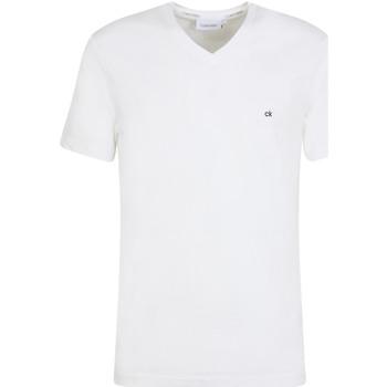 Textil Muži Trička s krátkým rukávem Calvin Klein Jeans K10K103672 Bílý