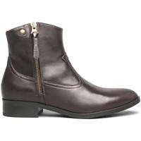 Boty Ženy Kotníkové boty NeroGiardini I013060D Hnědý