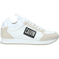 Boty Muži Nízké tenisky Calvin Klein Jeans B4S0715 Bílý