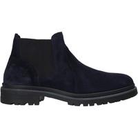 Boty Muži Kotníkové boty Valleverde 49840 Modrý
