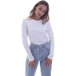 Textil Ženy Trička s dlouhými rukávy Calvin Klein Jeans K20K202386 Bílý
