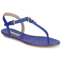 Boty Ženy Sandály Michael Kors FOULARD Modrá