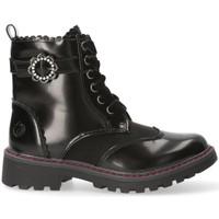 Boty Dívčí Kotníkové boty Chika 10 54216 Černá