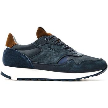 Boty Muži Nízké tenisky Pepe jeans PMS30691 Modrý