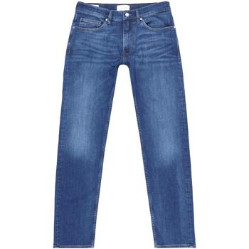 Textil Muži Rifle rovné Calvin Klein Jeans K10K105463 Modrý