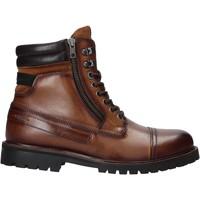 Boty Muži Kotníkové boty Pepe jeans PMS50198 Hnědý