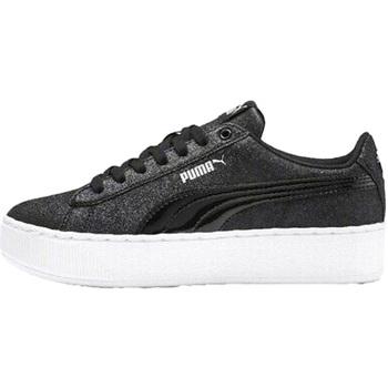 Boty Děti Nízké tenisky Puma 370171 Černá