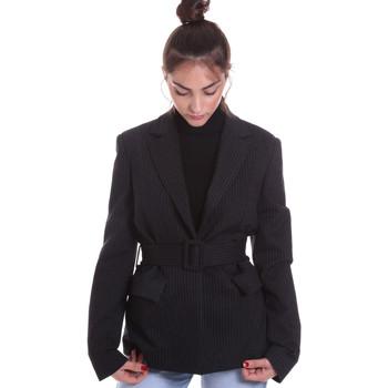 Textil Ženy Saka / Blejzry Fracomina F120W07022W040D4 Černá