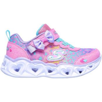 Boty Děti Nízké tenisky Skechers 302088N Růžový
