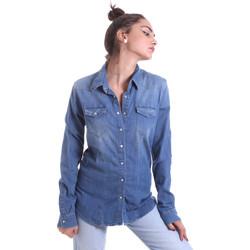 Textil Ženy Košile / Halenky Fornarina BE174577D884AS Modrý