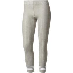 Textil Ženy Legíny adidas Originals BR9627 Šedá