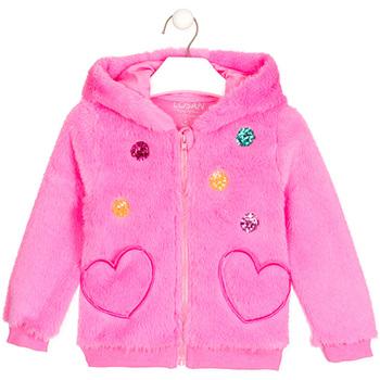 Textil Dívčí Svetry / Svetry se zapínáním Losan 026-0000AL Růžový