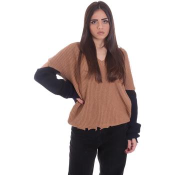 Textil Ženy Svetry P-Jean 1X109Q Y4ZX Béžový