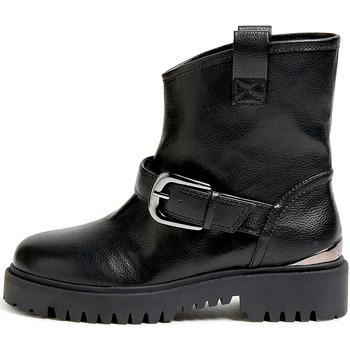 Guess Kotníkové boty FL8ORC ELE10 - Černá