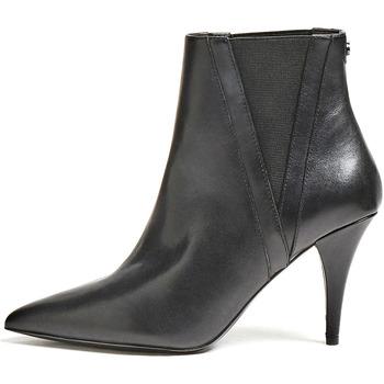 Guess Kotníkové boty FL8RAS LEA10 - Černá