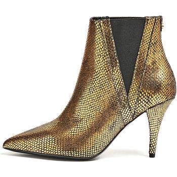Guess Kotníkové boty FL8RAS LEP10 - Zlatá