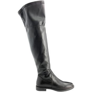 Boty Ženy Vysoké kozačky nad kolena Grunland ST0463 Černá