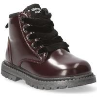 Boty Dívčí Kotníkové boty Mustang Kids 54219 Červená