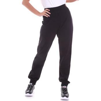 Textil Ženy Kalhoty Key Up 5FI47 0001 Černá