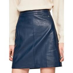 Textil Ženy Sukně Pepe jeans PL900822 Modrý