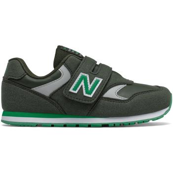 Boty Děti Nízké tenisky New Balance NBIV393CGN Zelený