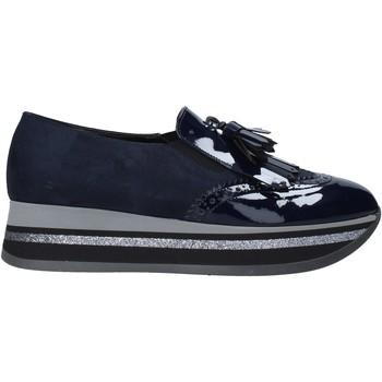 Boty Ženy Mokasíny Grace Shoes GLAM004 Modrý