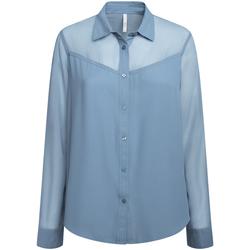 Textil Ženy Košile / Halenky Pepe jeans PL303835 Modrý