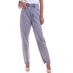 Textil Ženy Rifle rovné Calvin Klein Jeans K20K202116 Růžový