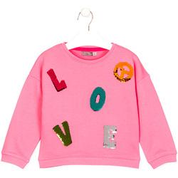 Textil Děti Trička s krátkým rukávem Losan 026-6021AL Růžový