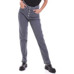 Textil Ženy Rifle rovné Calvin Klein Jeans K20K202114 Šedá