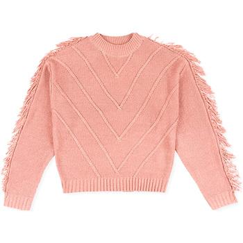 Textil Děti Svetry Losan 024-5002AL Růžový