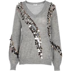 Textil Ženy Svetry Liu Jo MF0014 MA63J Šedá