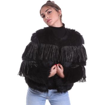 Textil Ženy Bundy Gaudi 021FD39009 Černá