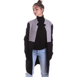 Textil Ženy Kabáty Gaudi 021BD53055 Šedá