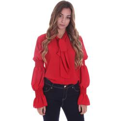 Textil Ženy Košile / Halenky Gaudi 021BD45025 Červené
