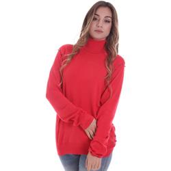 Textil Ženy Svetry Gaudi 021BD53026 Červené